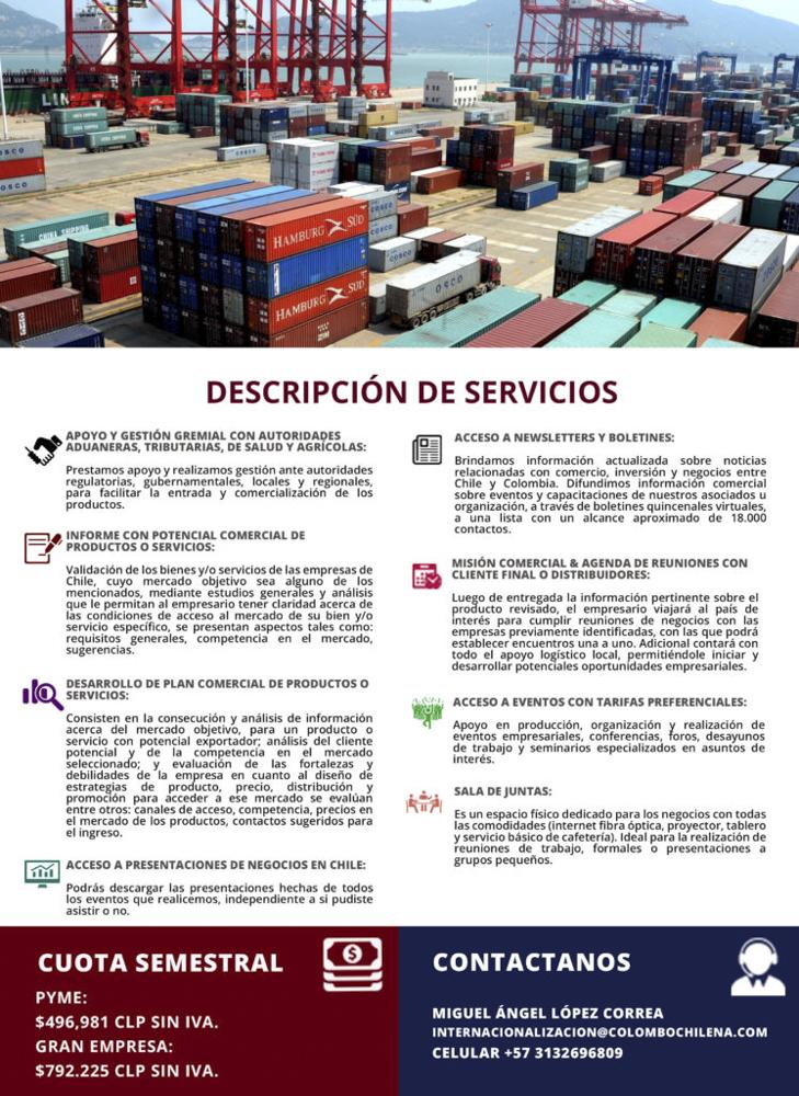 Flyer expo Colombia segunda hoja